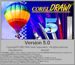 COREL DRAW 5.0_yudhaargasainstek